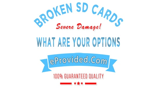 Broken SD Card Data Recovery for Professional Photographers