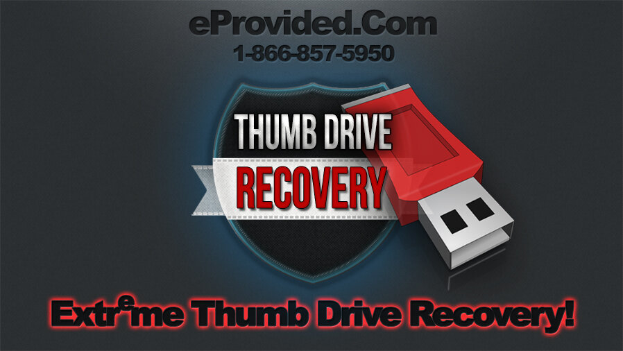 eProvided, Recover USB Flash Drives.