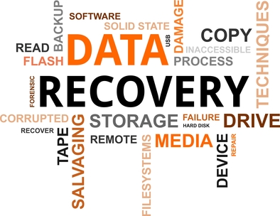 Data Recovery Process for Storage Drives.