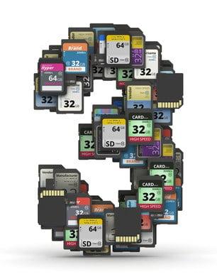 Memory Storage Cards