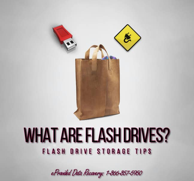 Flash Drive Data Recovery Storage Tips From eProvided, Denver Colorado.