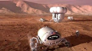 Use of SSD drive technology; decelerating, high speed atmospheric entry on Mars