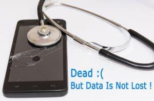 Recover data from broken smartphone