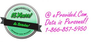 Data Recovery Specialists at eProvided.Com Are Available Worldwide, Give Them a Call Anytime.