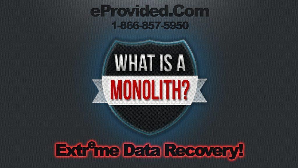 Cracked micro SD card Monolith Storage